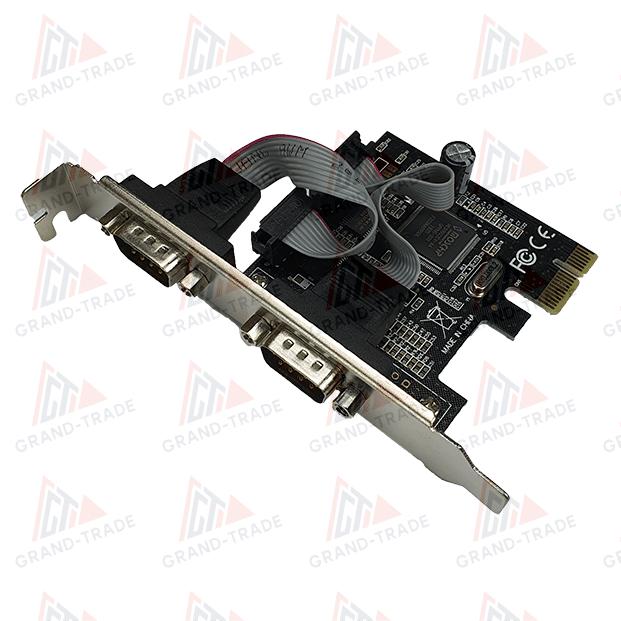 Контроллер PCI-E 2 COM порт (2 х RS232 ports)