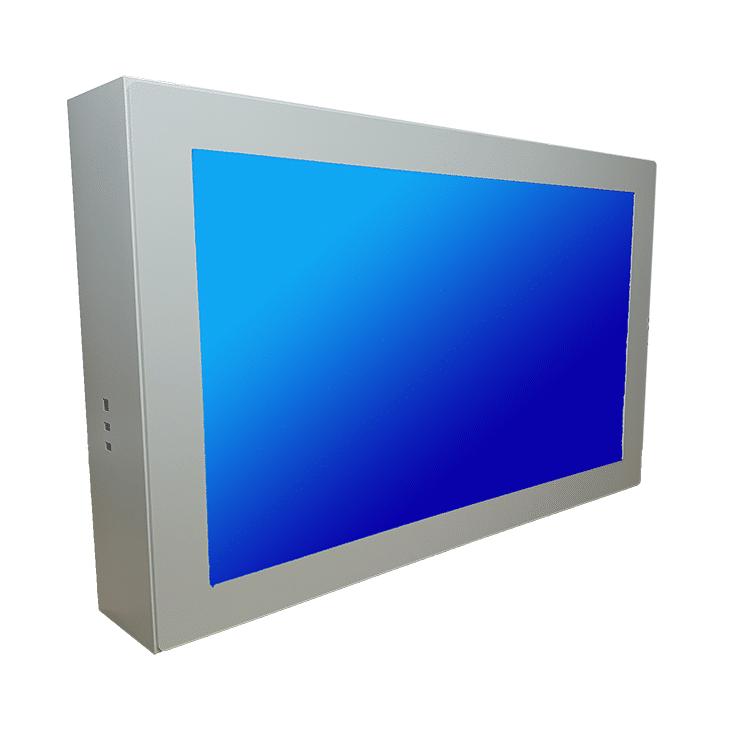Информационный киоск Эванс с экраном 43 дюйма навесной